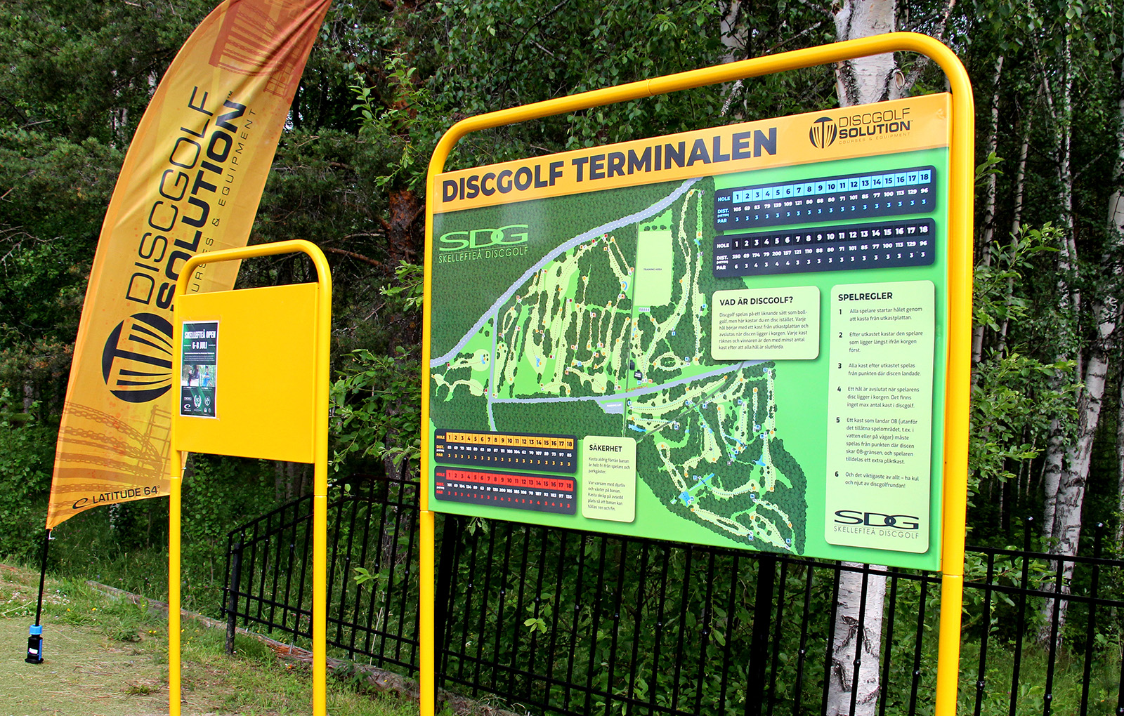 Disc Golf Solution Info Boards